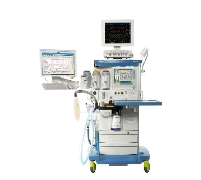 Anesthesia Machine with Anesthesia Scavenger System